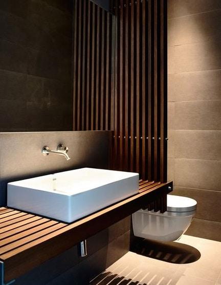 bagni moderni piccoli bagni moderni : Ora che avete deciso come guadagnare spazio in un piccolo bagno non vi ...