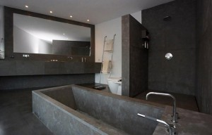 bagno in cemento