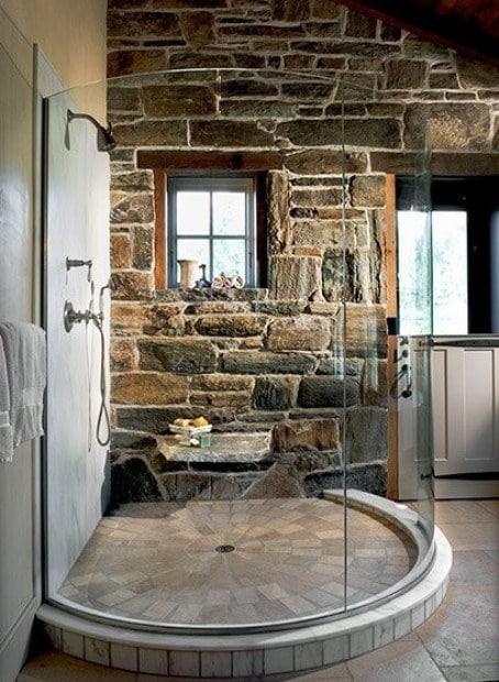 bagno in muratura moderno. affordable immagine with bagno in ... - Immagini Bagni In Muratura Moderni