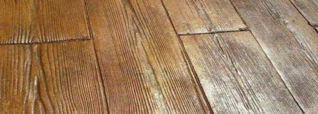 Cemento stampato effetto legno | Blog Edilnet
