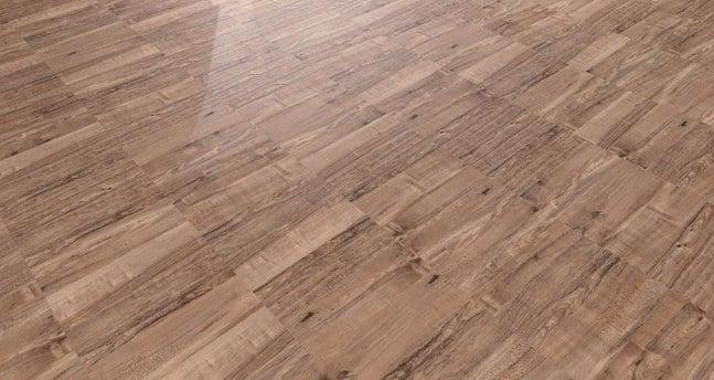 Cemento stampato effetto legno