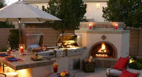Costruire barbecue in muratura blog edilnet - Cucina in muratura per esterni con barbecue ...