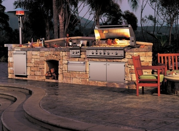costruire barbecue in muratura