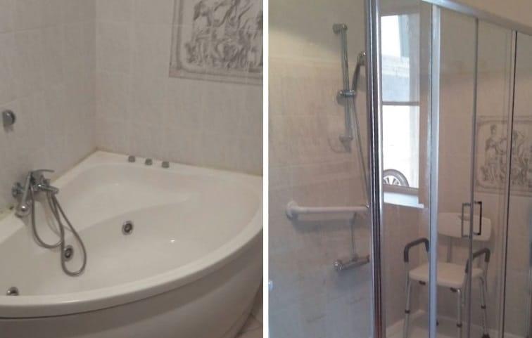 sostituzione vasca con doccia Milano