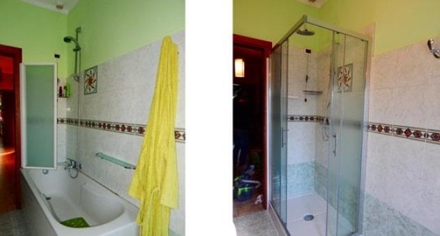 sostituzione vasca con doccia Firenze