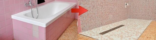 sostituzione vasca con doccia Brescia