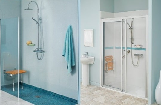 sostituzione vasca con doccia Bari