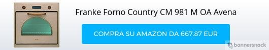 Forno Country Franke CM 981 M OA Avena