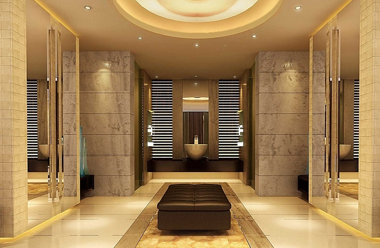 Bagni marmo di lusso idee creative di interni e mobili for Mobili lussuosi