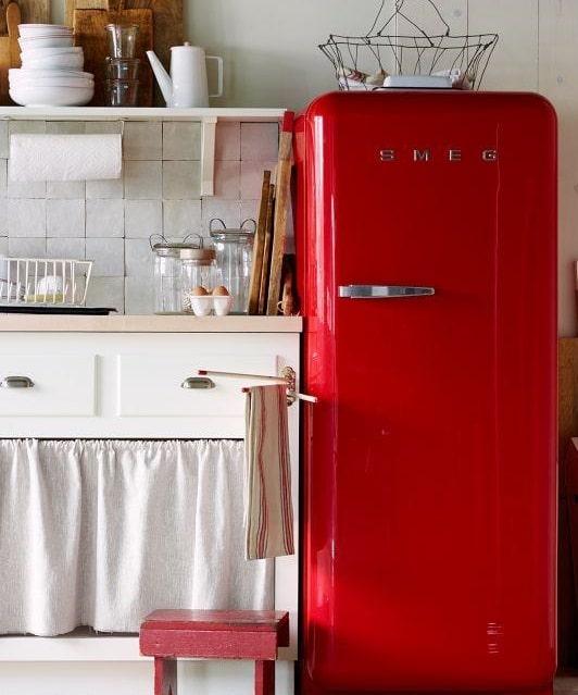 Cucine vintage consigli e costi blog edilnet for Cucine colorate