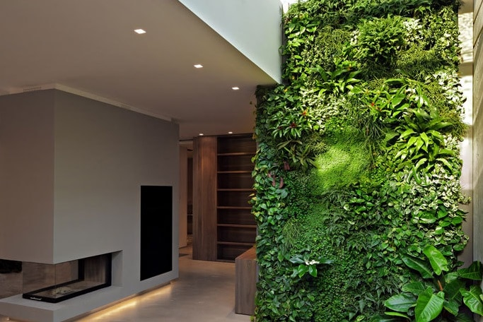 Giardino verticale interno blog edilnet - Giardino interno casa ...