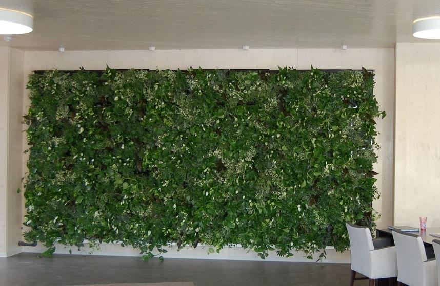 Giardino verticale interno blog edilnet - Prato verticale per interni ...