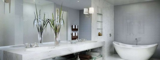 Bagni in muratura moderni