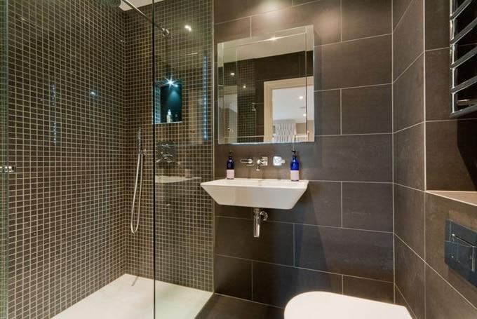 Bagni in muratura awesome esempio di una piccola stanza da bagno padronale moderna con lavabo a - Lavabo bagno muratura ...
