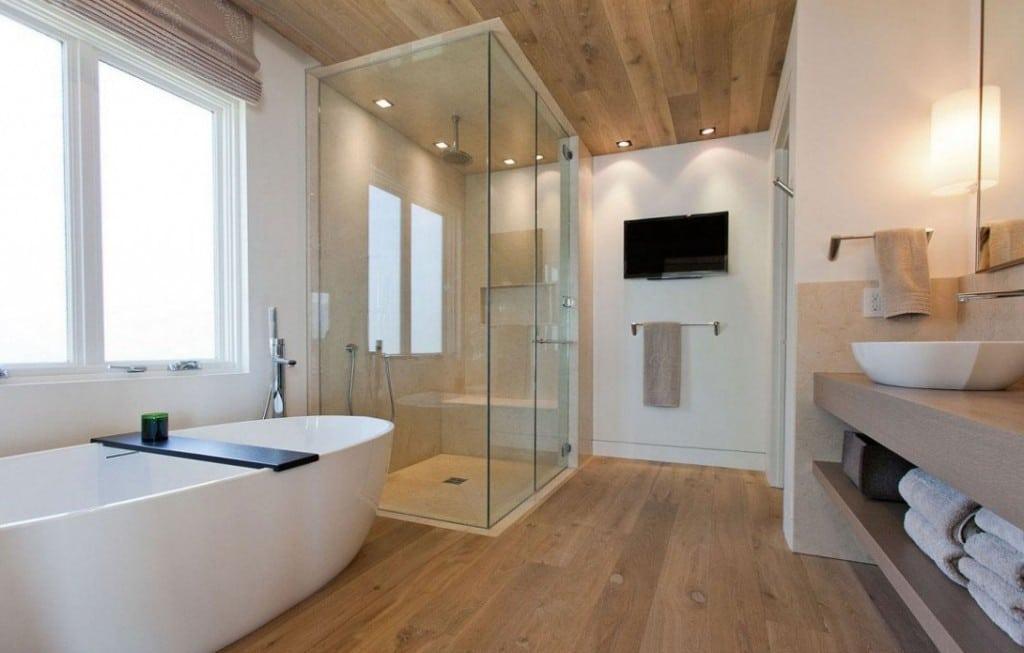 Bagni moderni i principi delle nuove tendenze blog for Bagni in legno e pietra