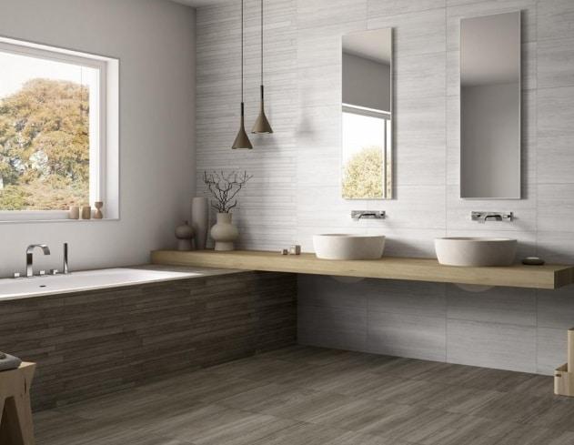 Come rivestire un bagno moderno utili consigli blog edilnet - Pavimento bagno moderno ...