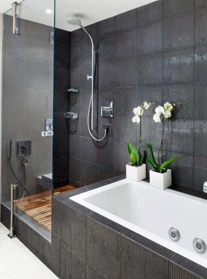 Vasche Da Bagno Con Doccia: Idee per ristrutturare un bagno trasformare la vasca in doccia.