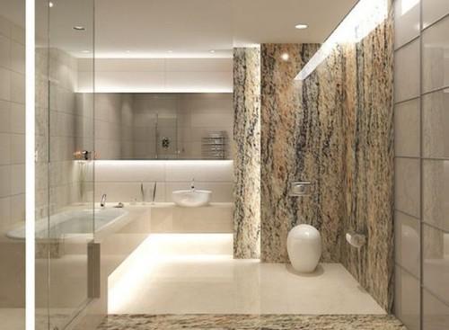 Idea di bagno di lusso in stile moderno