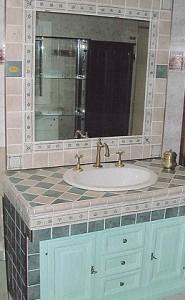 bagni in muratura rustici