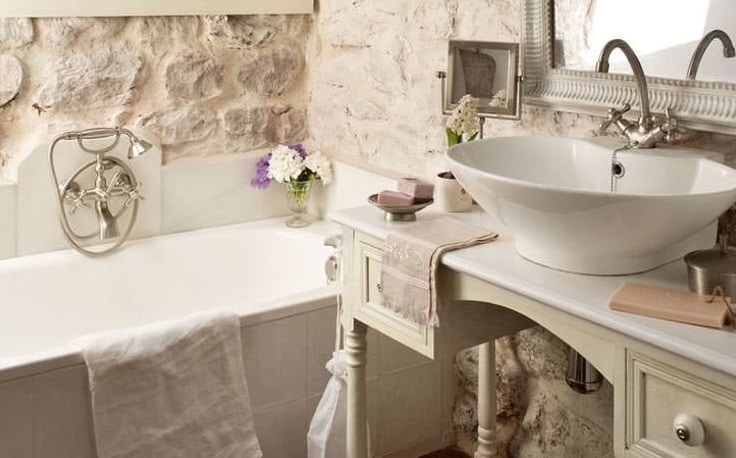 Simple bagni in muratura rustici with bagno in muratura - Bagno muratura moderno ...