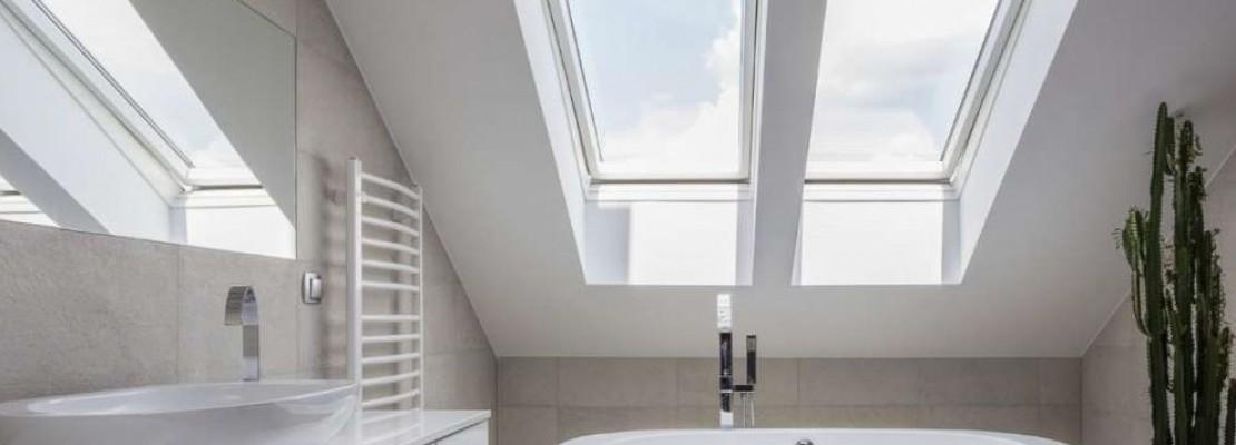 bagni moderni per mansarde, idee e consigli - | blog edilnet - Bagni Moderni Idee