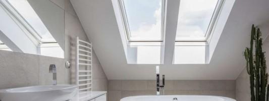 Bagno moderno in mansarda: tutto quello da conoscere