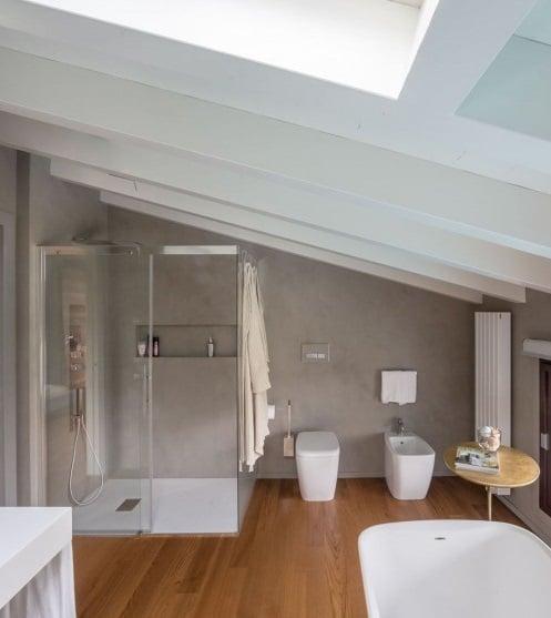 Bagni moderni per mansarde idee e consigli blog edilnet - Bagno in mansarda non abitabile ...