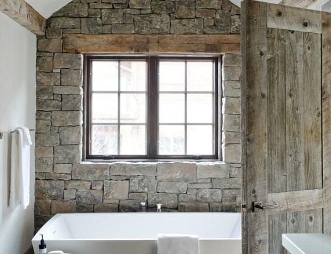 bagni rustici in muratura