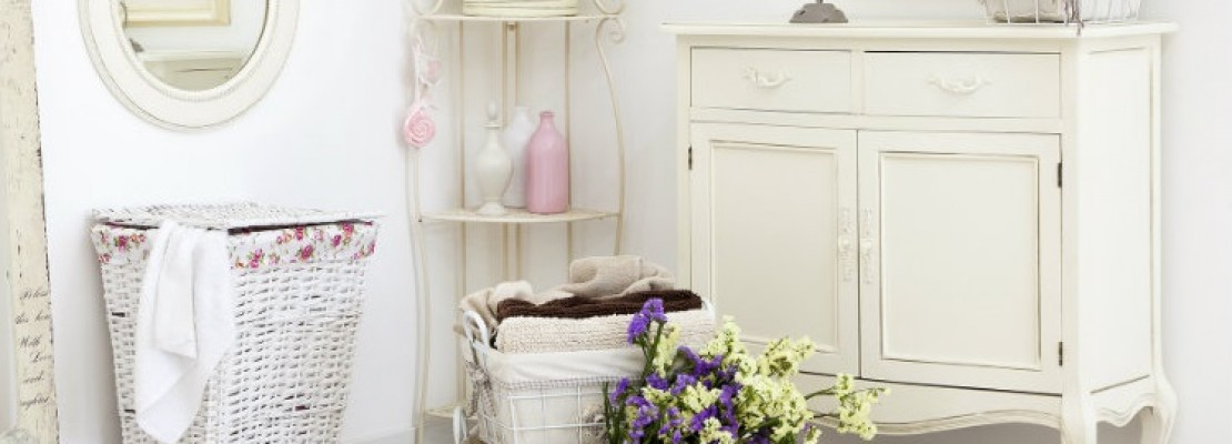 Bagni chic simple mobile bagno chanel shabby chic with for Arredamento bagno shabby chic