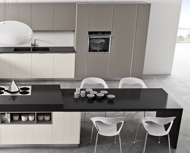 Cucina moderna con isola idee e consigli blog edilnet - Cucine moderne con isola lube ...