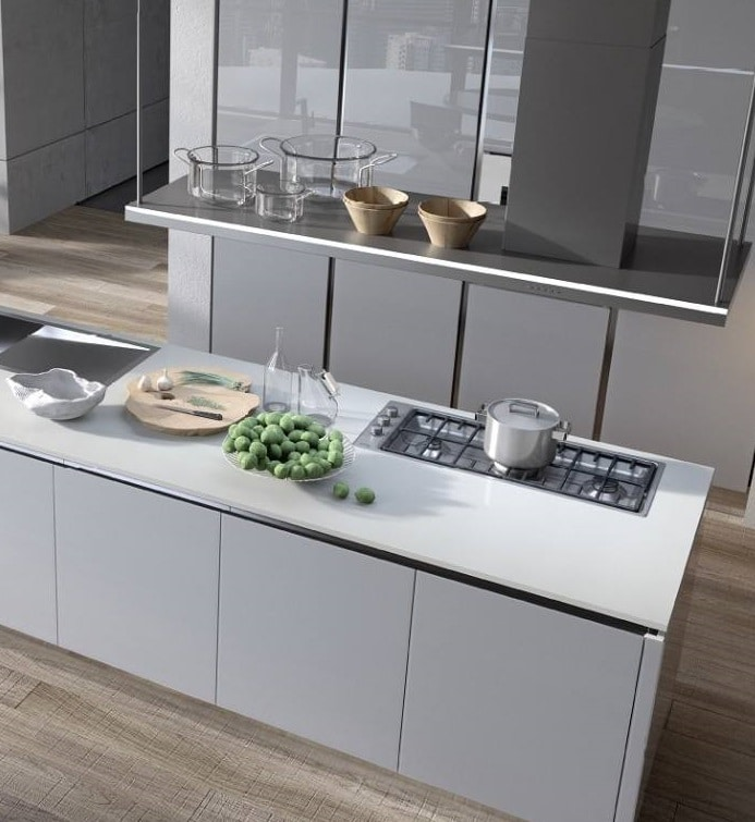 Cucina moderna con isola idee e consigli blog edilnet - Cucina rustica con isola ...