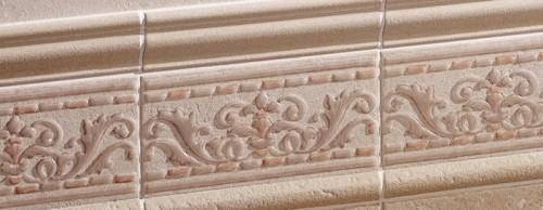 Bellissima decorazione in muratura