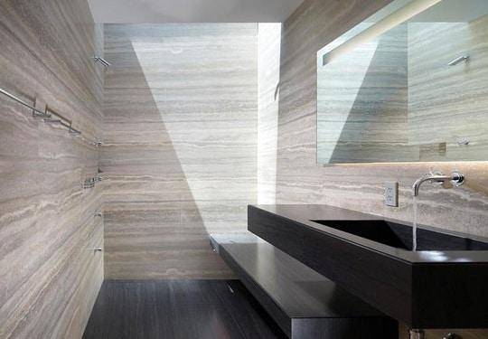 bagno in pietra, idee e consigli - | blog edilnet - Arredo Bagno In Muratura Moderno