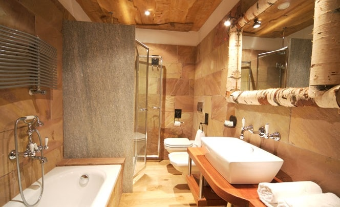 Bagni Moderni Con Pietra : Bagno in pietra idee e consigli edilnet