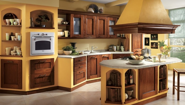 Cucine in muratura con isola blog edilnet - Cappa cucina in muratura ...