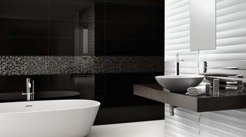 Bagno Moderno Bianco E Nero.Bagni Moderni I Principi Delle Nuove Tendenze Con Fotogallery