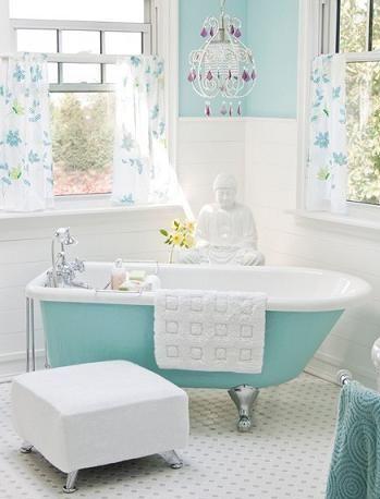 bagno moderno vasca a vista