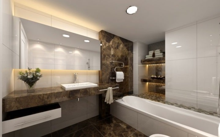 bagni moderni: i principi delle nuove tendenze - | blog edilnet - Bagni Moderni Con Vasca