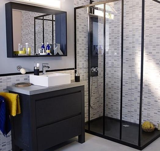 con piatto doccia in stile zen. bagni moderni con doccia ...