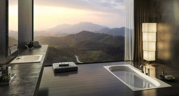 bagno elegante moderno
