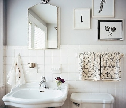 bagno sanitari vintage