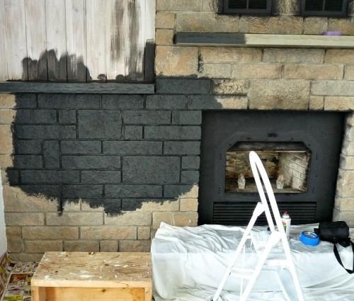 Lavoro in corso di ristrutturazione esterna casa
