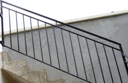 Esempio di ringhiera eseguita da azienda di carpenteria metallica