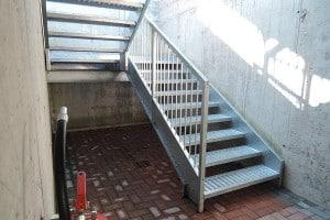 scale di sicurezza antincendio