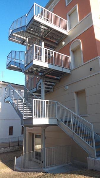scale di sicurezza