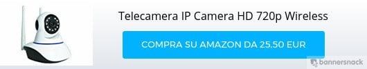 Telecamera di videosorveglianza IP wireless