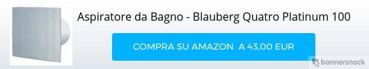 Aspiratore per bagni ciechi Blauberg