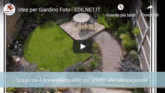 Video Blog Edilnet di come Creare un giardino da dove iniziare