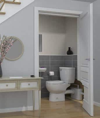 bagno realizzato con sanitrit