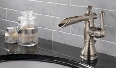Un rubinetto cascata classico